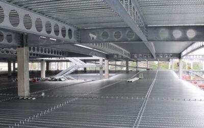 Viguetas alveolares Gerdau (WA), una solución efectiva para la instalación de redes hidráulicas y sanitarias sin perforar las vigas